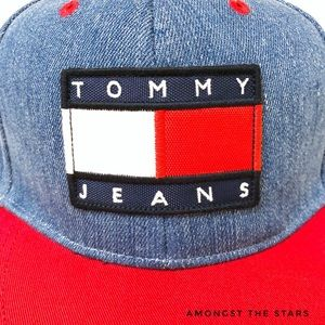 d4a44486ac019 Tommy Hilfiger Accessories - Tommy Hilfiger Urban Outfitters Denim Snapback  Hat